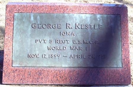 NESTLE, GEORGE R - Carroll County, Iowa   GEORGE R NESTLE