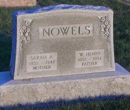 NOWELS, WILLIAM HENRY - Carroll County, Iowa   WILLIAM HENRY NOWELS
