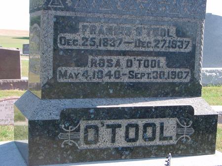 O'TOOL, FRANCIS & ROSE - Carroll County, Iowa | FRANCIS & ROSE O'TOOL