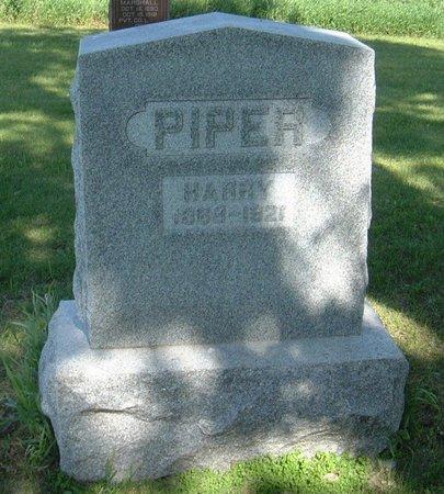 PIPER, HARRY - Carroll County, Iowa | HARRY PIPER