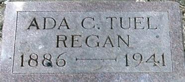 TUEL REAGAN, ADA C. - Carroll County, Iowa | ADA C. TUEL REAGAN