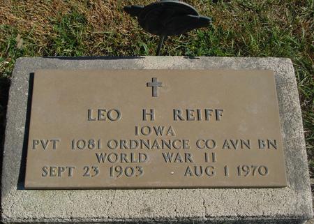 REIFF, LEO H. - Carroll County, Iowa | LEO H. REIFF
