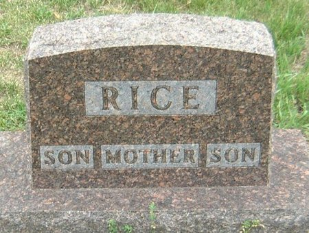 RICE, SON - Carroll County, Iowa   SON RICE