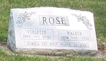 ROSE, VIOLETTE L - Carroll County, Iowa | VIOLETTE L ROSE