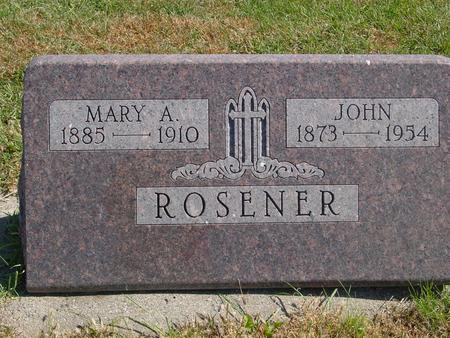 ROSENER, JOHN - Carroll County, Iowa | JOHN ROSENER