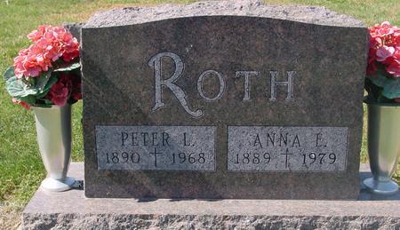ROTH, PETER L. & ANNA E. - Carroll County, Iowa | PETER L. & ANNA E. ROTH