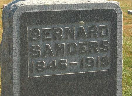 SANDERS, BERNARD - Carroll County, Iowa   BERNARD SANDERS
