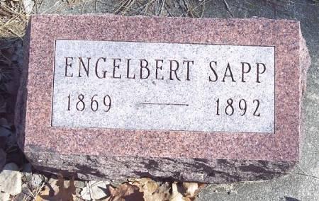 SAPP, ENGELBERT - Carroll County, Iowa   ENGELBERT SAPP