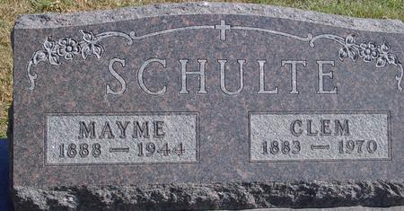 SCHULTE, CLEM & MAYME - Carroll County, Iowa | CLEM & MAYME SCHULTE