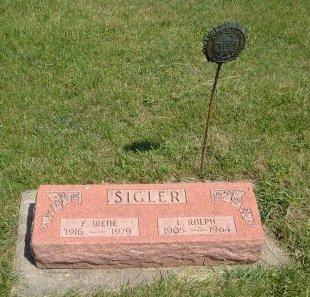 SIGLER, F. IRENE - Carroll County, Iowa | F. IRENE SIGLER