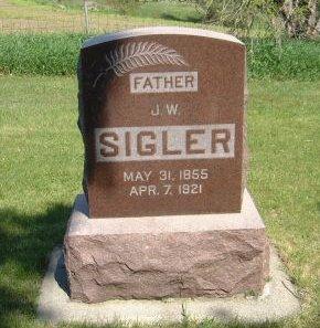 SIGLER, J. W. - Carroll County, Iowa | J. W. SIGLER