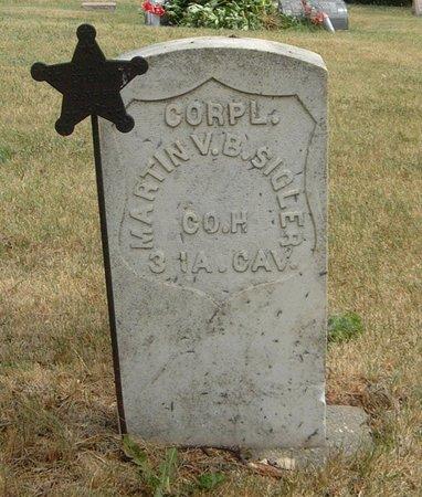 SIGLER, MARTIN V. B. - Carroll County, Iowa | MARTIN V. B. SIGLER