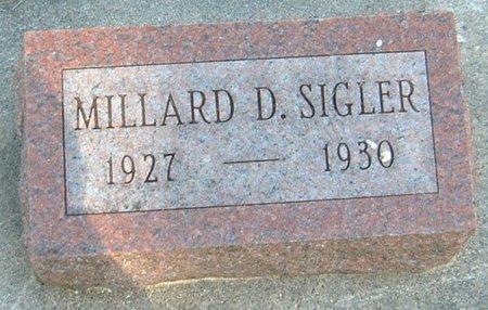 SIGLER, MILLARD D. - Carroll County, Iowa   MILLARD D. SIGLER