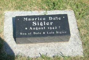 SIGLER, MAURICE DALE - Carroll County, Iowa   MAURICE DALE SIGLER