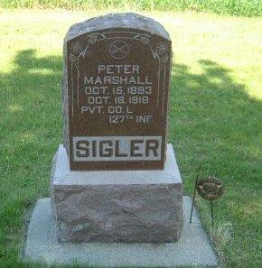SIGLER, PETER MARSHALL - Carroll County, Iowa | PETER MARSHALL SIGLER