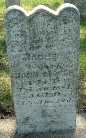SIGLER, RACHEL - Carroll County, Iowa   RACHEL SIGLER