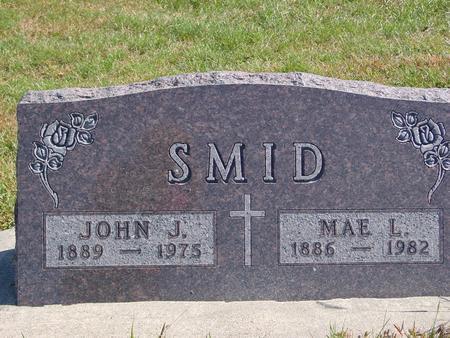 SMID, JOHN & MAE - Carroll County, Iowa   JOHN & MAE SMID