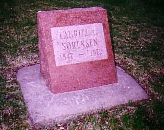 SORENSEN, LAURITZ CHRISIAN - Carroll County, Iowa | LAURITZ CHRISIAN SORENSEN