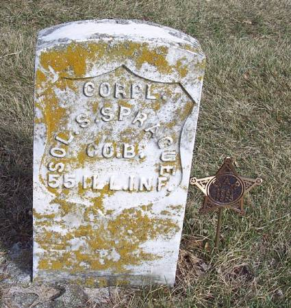 SPRAGUE, SOLOMON S - Carroll County, Iowa | SOLOMON S SPRAGUE