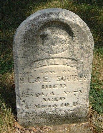 SQUIRES, EARL R. - Carroll County, Iowa   EARL R. SQUIRES