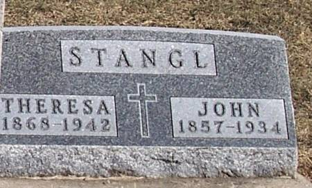 STANGL, JOHN - Carroll County, Iowa | JOHN STANGL
