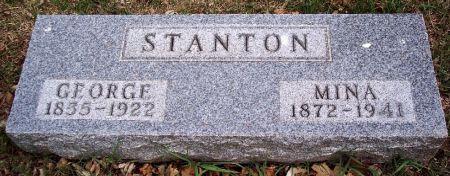 STANTON, GEORGE MACKENZIE - Carroll County, Iowa | GEORGE MACKENZIE STANTON