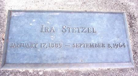 STETZEL, IRA - Carroll County, Iowa   IRA STETZEL