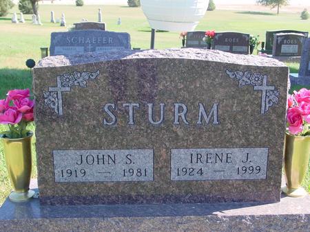 STURM, JOHN & IRENE - Carroll County, Iowa | JOHN & IRENE STURM