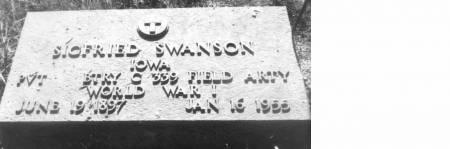 SWANSON, SIGFRIED - Carroll County, Iowa | SIGFRIED SWANSON