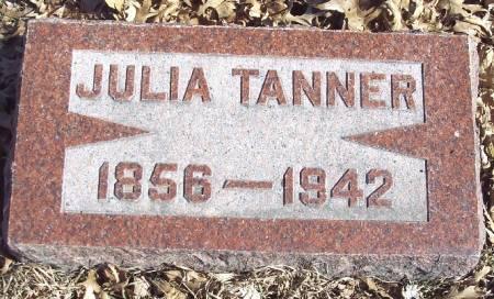 TANNER, JULIA - Carroll County, Iowa | JULIA TANNER