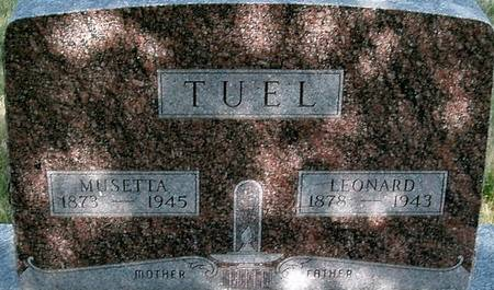 TUEL, LEONARD - Carroll County, Iowa | LEONARD TUEL