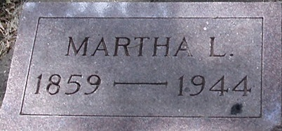 HALL TUEL, MARTHA L. - Carroll County, Iowa | MARTHA L. HALL TUEL