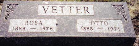 VETTER, ROSA - Carroll County, Iowa | ROSA VETTER