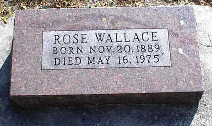 BATES WALLACE, ROSE - Carroll County, Iowa | ROSE BATES WALLACE