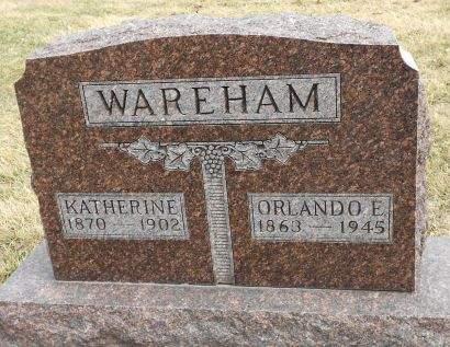 DAVIS WAREHAM, KATHERINE - Carroll County, Iowa | KATHERINE DAVIS WAREHAM