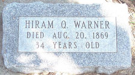 WARNER, HIRAM Q - Carroll County, Iowa | HIRAM Q WARNER