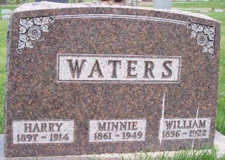 WATERS, MINNIE M - Carroll County, Iowa   MINNIE M WATERS