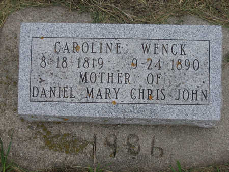 WENCK, CAROLINE - Carroll County, Iowa | CAROLINE WENCK