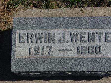 WENTE, ERWIN J. - Carroll County, Iowa | ERWIN J. WENTE