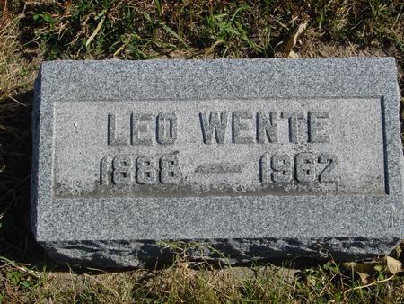 WENTE, LEO - Carroll County, Iowa | LEO WENTE