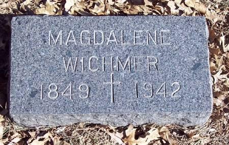 WERNER WICHMER, MAGDALENE - Carroll County, Iowa   MAGDALENE WERNER WICHMER