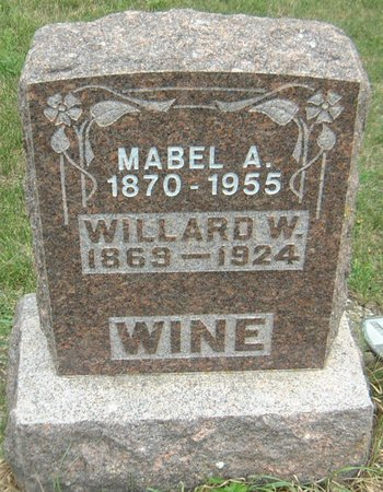 WINE, MABEL A. - Carroll County, Iowa | MABEL A. WINE