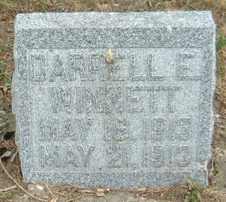 WINNETT, DARRELLE E. - Carroll County, Iowa   DARRELLE E. WINNETT