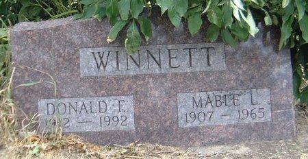 WINNETT, DONALD E. - Carroll County, Iowa   DONALD E. WINNETT