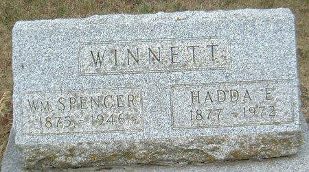 WINNETT, HADDA E. - Carroll County, Iowa | HADDA E. WINNETT