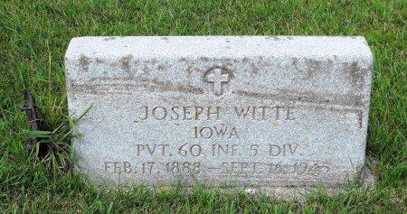 WITTE, JOSEPH - Carroll County, Iowa | JOSEPH WITTE