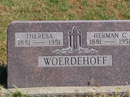WOERDEHOFF, HERMAN & THERESA - Carroll County, Iowa | HERMAN & THERESA WOERDEHOFF