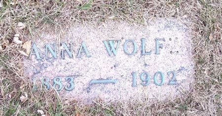 WOLFE, ANNA - Carroll County, Iowa | ANNA WOLFE