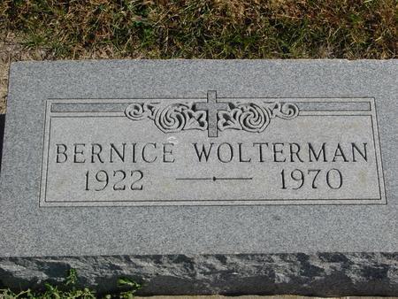 WOLTERMAN, BERNICE - Carroll County, Iowa | BERNICE WOLTERMAN