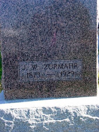 ZURMAHR, J. W. - Carroll County, Iowa | J. W. ZURMAHR